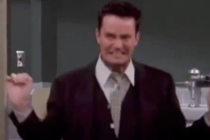 Friends: Matthew Perry postou vídeo de Chandler