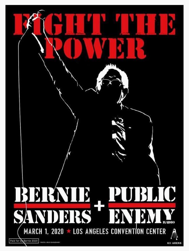 Public Enemy e Bernie Sanders