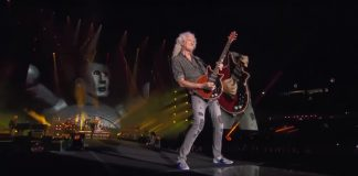 Queen + Adam Lambert no Fire Fight Australia