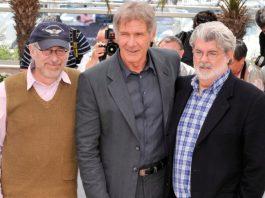Steven Spielberg, Harrison Ford e George Lucas