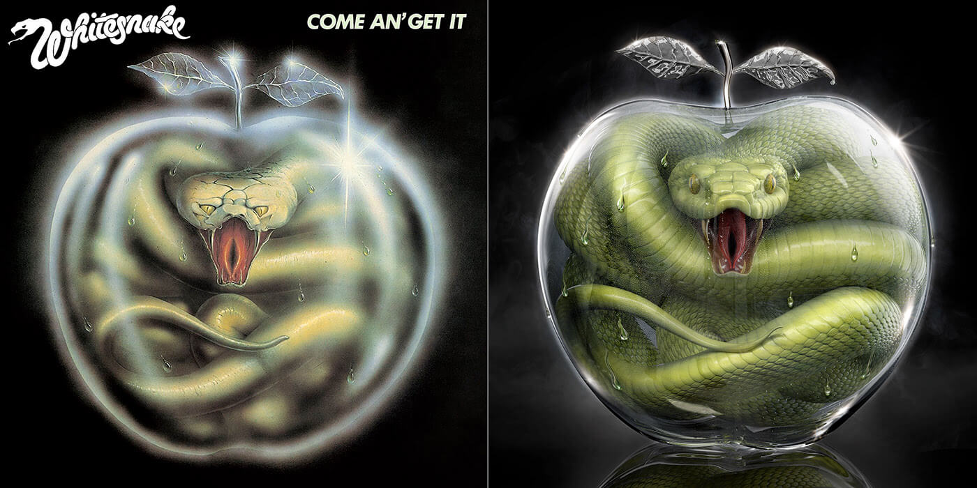Whitesnake - Come an' Get It (Rock ReCover)