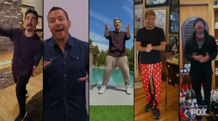 Backstreet Boys em casa
