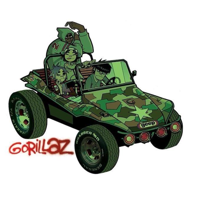 Gorillaz - capa homônimo