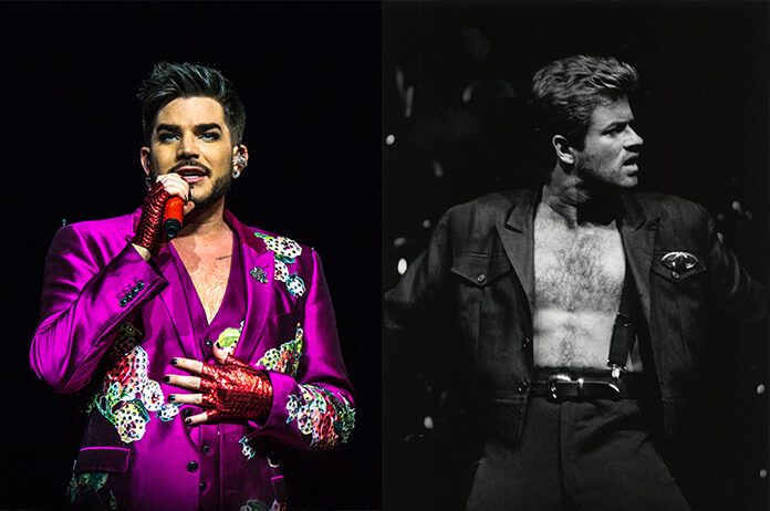 Adam Lambert e George Michael