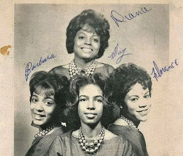 Barbara Martin com o The Supremes