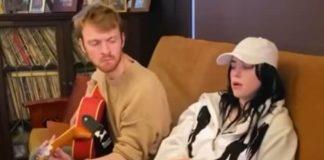 Billie Eilish em versão acústica de bad guy