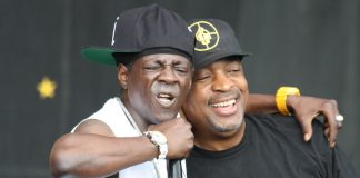 Chuck D e Flavor Flav, do Public Enemy