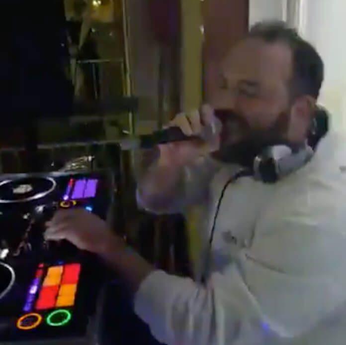 DJ na quarentena da Itália