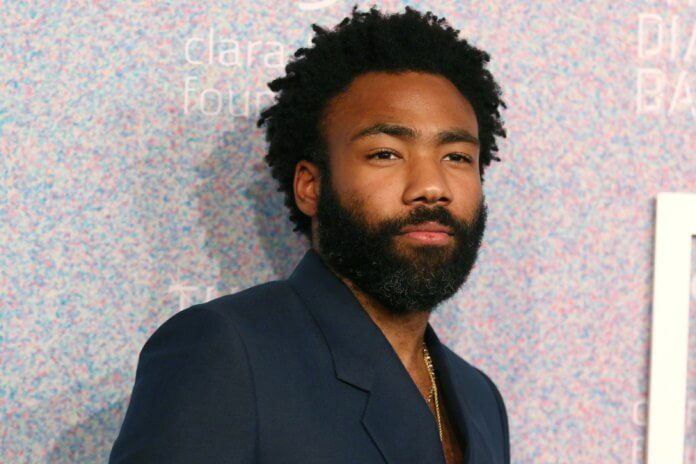 Donald Glover (Childish Gambino) em 2018