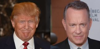 Donald Trump e Tom Hanks