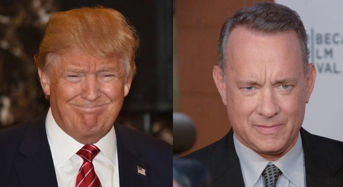 Donald Trump e Tom Hanks