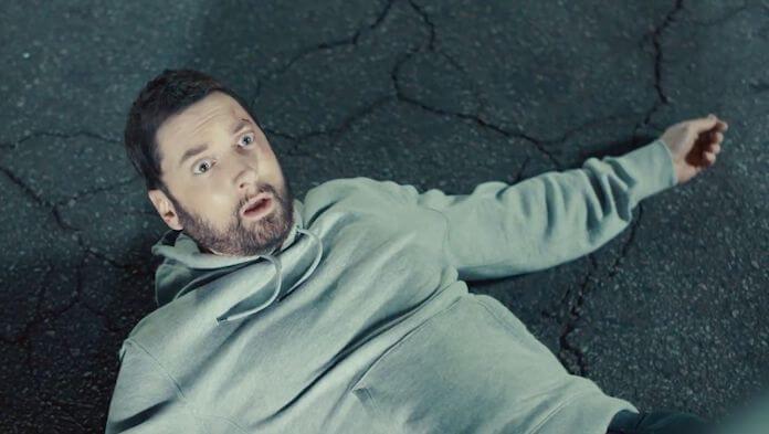 Eminem no clipe de