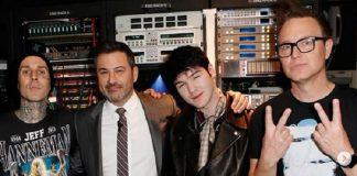 Goody Grace, blink-182 e Jimmy Kimmel