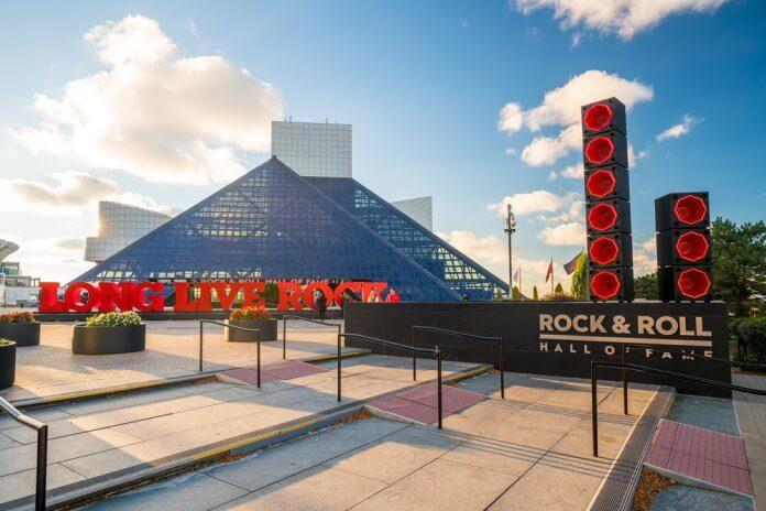 Hall da Fama do Rock And Roll em Cleveland