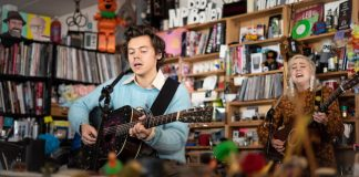 Harry Styles no Tiny Desk
