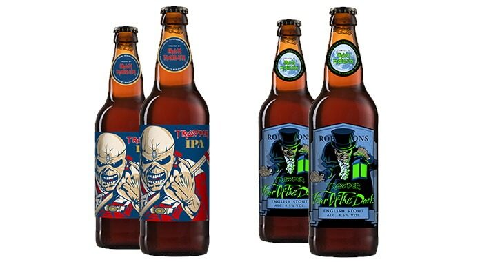 Novas cervejas do Iron Maiden: IPA e Stout