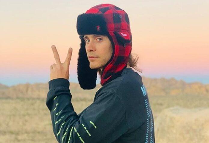 Jared Leto no Deserto