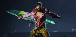 Jared Leto no Rock In Rio 2017