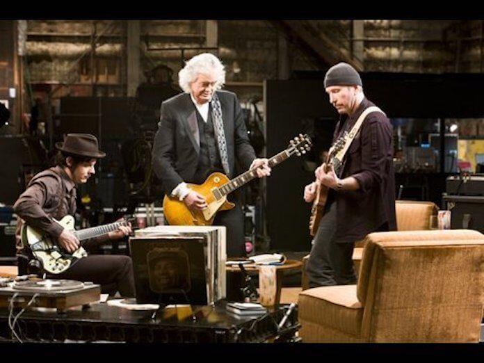 Jimmy Page, The Edge e Jack White
