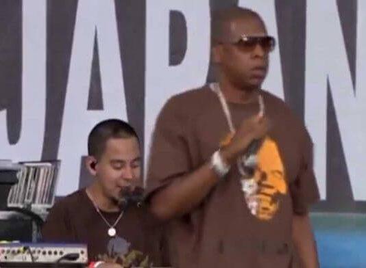 Linkin Park e Jay-Z no Live 8 de 2008