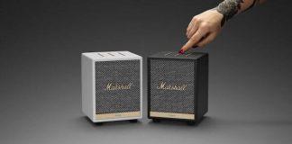 Novas caixas de som Marshall