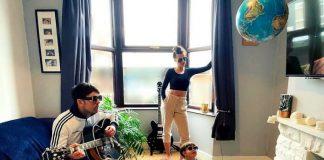 Fãs de Oasis recriam capa de Definitely Maybe
