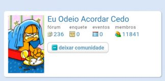 Fã recria o Orkut