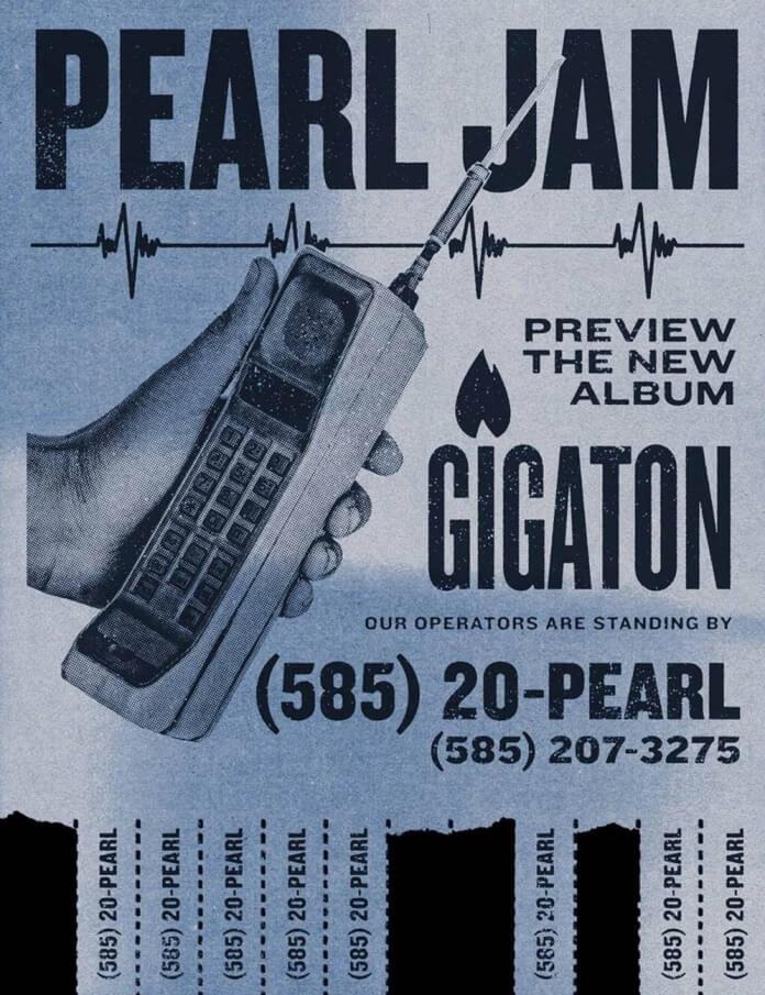 Pearl Jam - Gigaton no Telefone