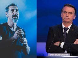 Serj Tankian e Jair Bolsonaro