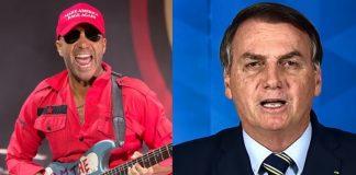 Tom Morello e Jair Bolsonaro