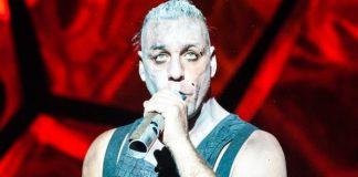 Vocalista do Rammstein em Moscow, 2012