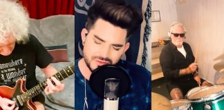 Queen e Adam Lambert gravam nova versão para We Are The Champions