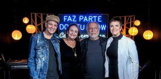 Rodrigo Santos, Lucinha Araujo, Leila Pinheiro, Roberto Menescal