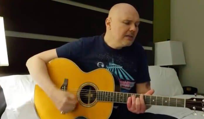 Billy Corgan e versões improvisadas de Smashing Pumpkins