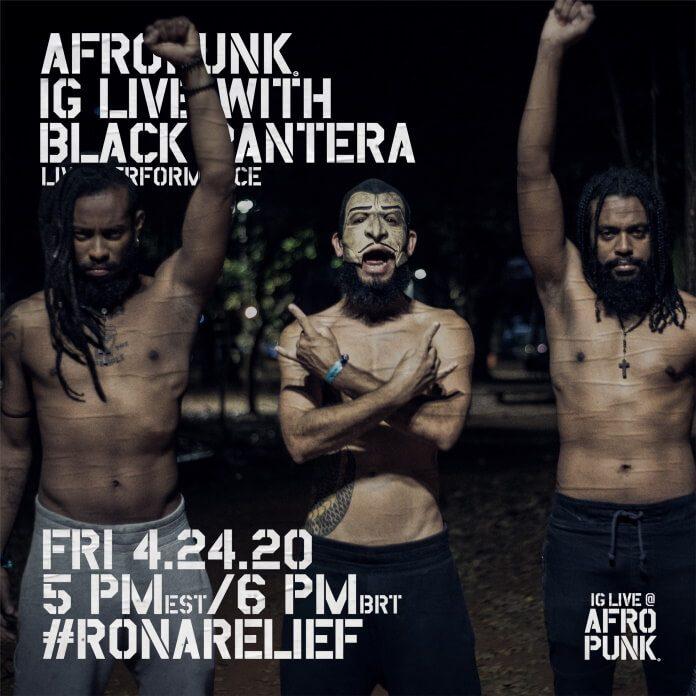 Black Pantera faz Live no Afropunk