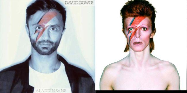 Capas recriadas na quarentena - David Bowie