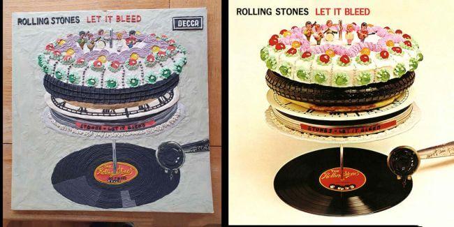 Capas recriadas na quarentena - Rolling Stones