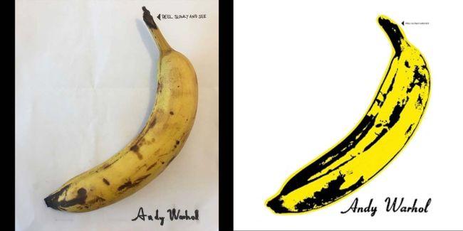 Capas recriadas na quarentena - Velvet Underground