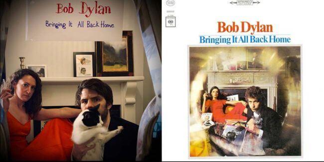 Capas recriadas na quarentena - Bob Dylan