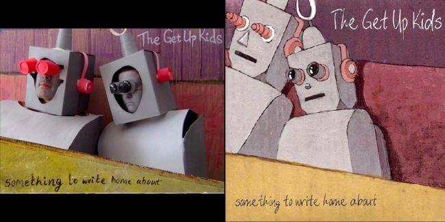 Capas recriadas na quarentena - The Get Up Kids