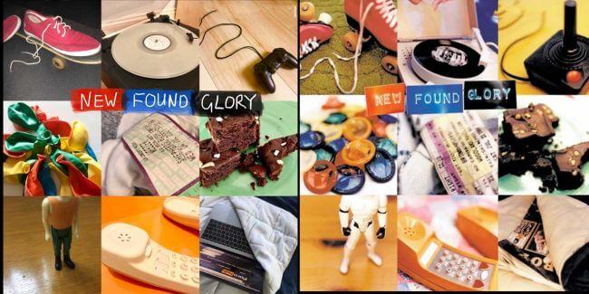 Capas recriadas na quarentena - New Found Glory
