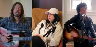 Dave Grohl, Billie Eilish e Billie Joe Armstrong em shows online