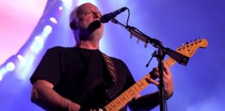 David Gilmour na América do Sul