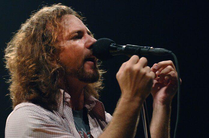 Eddie Vedder em Milão, Itália - 2006