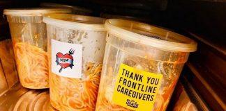 Eminem doa Spaghetti para profissionais de saúde