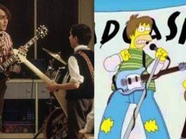 Escola de Rock e Sadgasm (Os Simpsons)