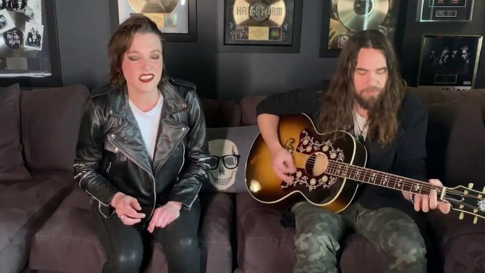 Halestorm no Gibson Homemade Sessions