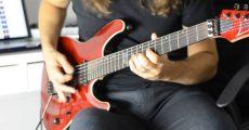 Kiko Loureiro em teste para o Megadeth