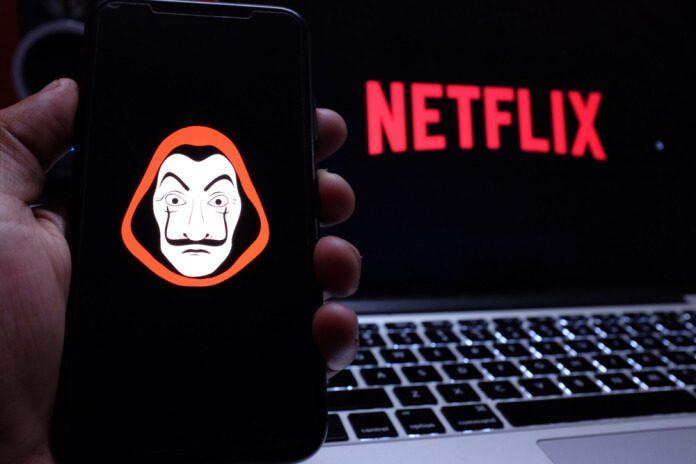 La Casa de Papel na Netflix