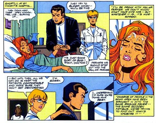 Mary Jane enfrenta o Corona